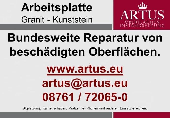 Arbeitsplatte Granit Kunststein Bundesweite Instandsetzungen