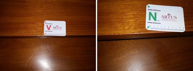 Treppe Holz Druckstellen